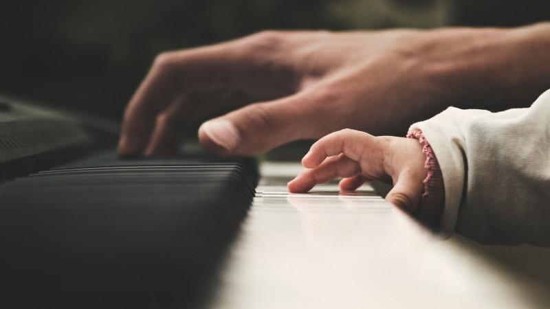 鍵盤のタッチ